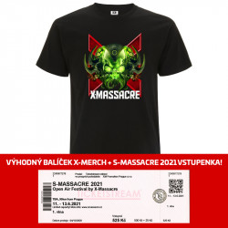 X-Monster t-shirt +...
